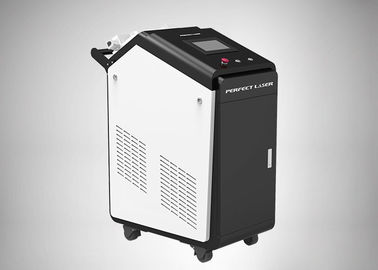 Air Cooling 30w Laser Derusting Machine 1064nm For Mold Industry Raycus Laser
